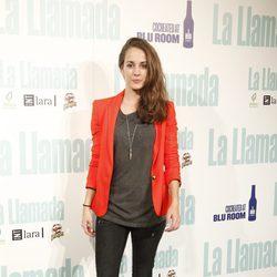 Silvia Alonso en el estreno de 'La llamada'