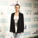 Aura Garrido en el estreno de 'La llamada'