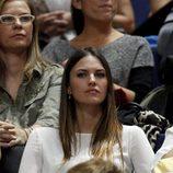 Helen Lindes en el partido de baloncesto Real Madrid - Laboral Kutxa