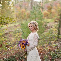 Kelly Clarkson en su boda
