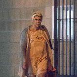 Terelu Campos a la salida de un polideportivo en el que graba el reto de 'Sálvame'