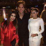 Kourtney Kardashian junto a su amigo Jonathan Cheban y Anat Popovsky