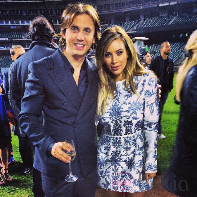 Kim Kardashian junto a Jonathan Cheban