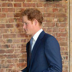 El Príncipe Harry de Inglaterra en el bautizo del Príncipe Jorge de Cambridge