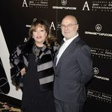 Massiel en la entrega de la Medalla de Oro de la Academia de Cine a Ángela Molina
