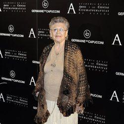 Pilar Bardem en la entrega de la Medalla de Oro de la Academia de Cine a Ángela Molina