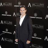 Manuel Bandera en la entrega de la Medalla de Oro de la Academia de Cine a Ángela Molina