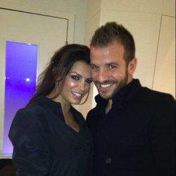 Rafael Van der Vaart y Sabia Boulahrouz