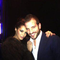Rafael Van der Vaart y Sabia Boulahrouz de fiesta