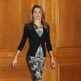 La Princesa Letizia en las audiencias previas a la entrega de los Premios Príncipe de Asturias 2013
