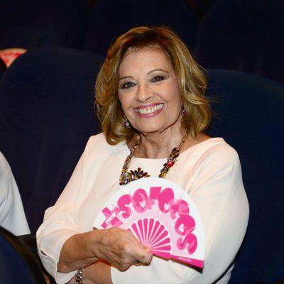 Maria Teresa Campos en el estreno de 'Más Sofocos' en Barcelona
