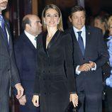 La Princesa Letizia en el concierto previo a la entrega de los Premios Príncipe de Asturias 2013