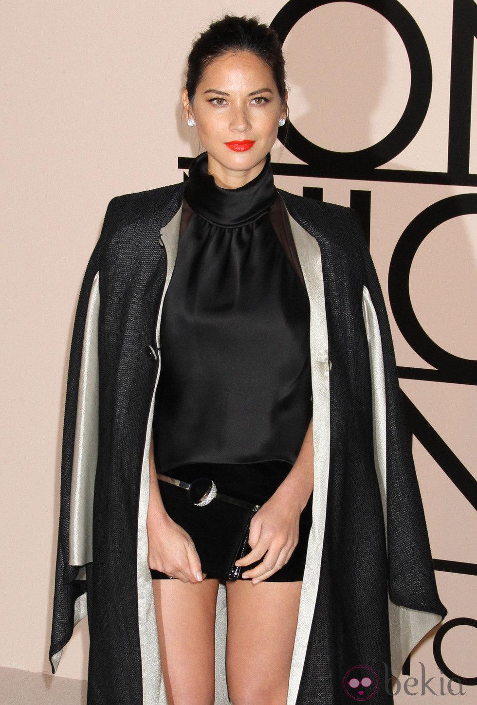 Olivia Munn en la fiesta de Giorgio Armani 'One Night Only' en Nueva York