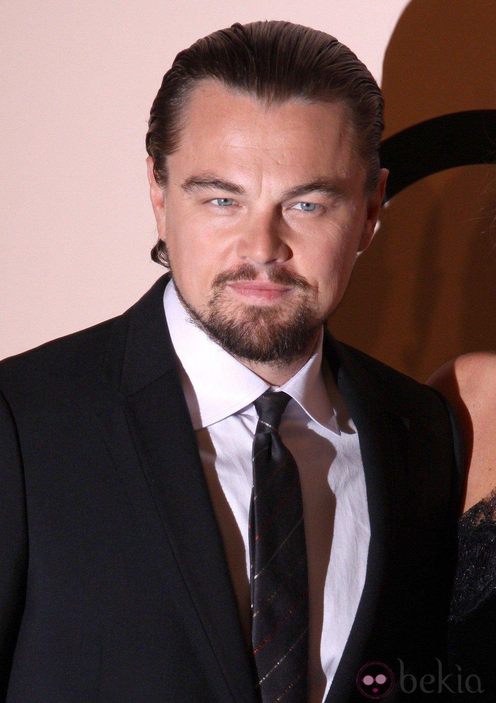 Leonardo DiCaprio en la fiesta de Giorgio Armani 'One Night Only' en Nueva York