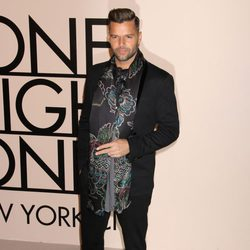 Ricky Martin en la fiesta de Giorgio Armani 'One Night Only' en Nueva York