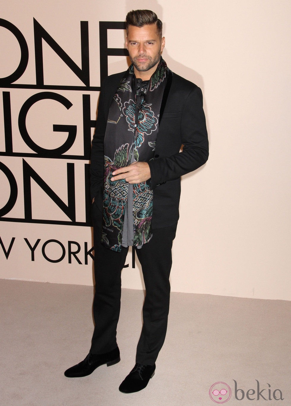 Ricky Martin en la fiesta de Giorgio Armani 'One Night Only' en Nueva York