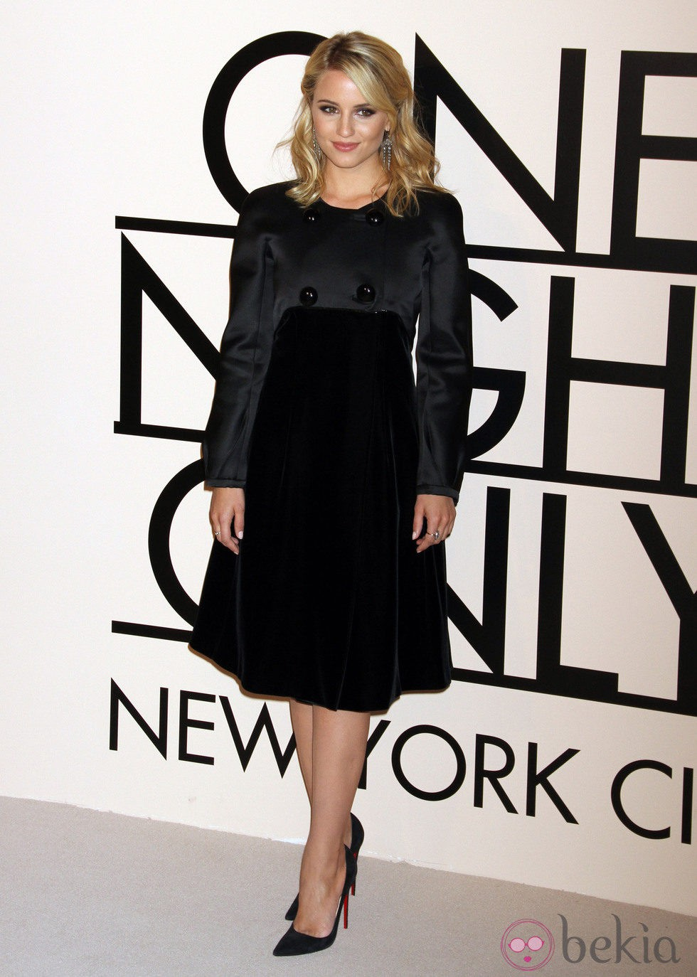 Dianna Agron en la fiesta de Giorgio Armani 'One NIght Only' en Nueva York