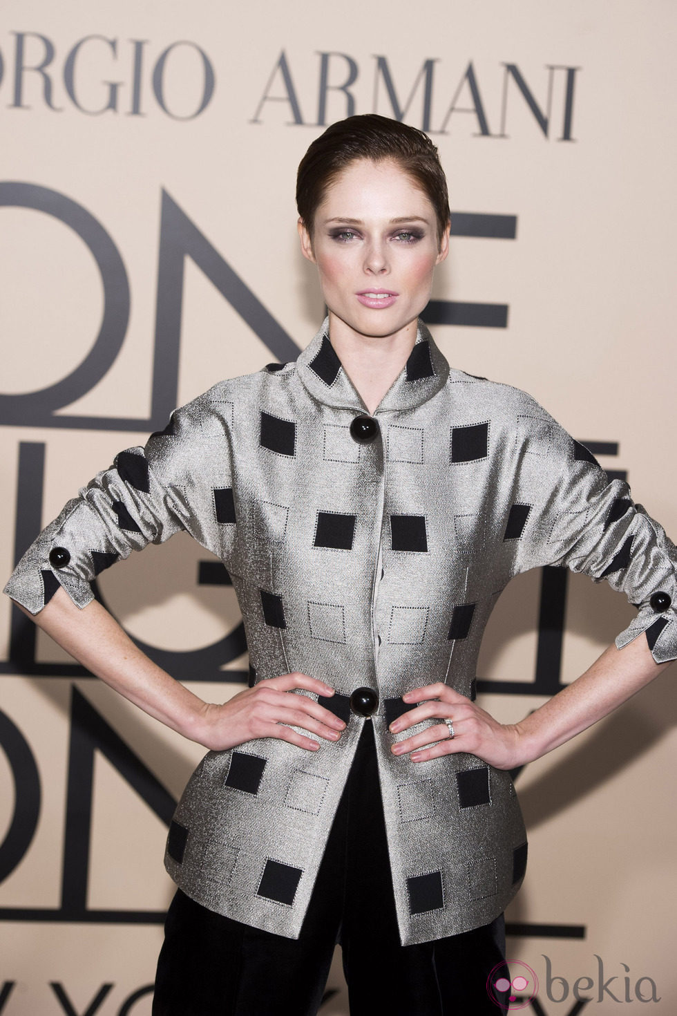Coco Rocha en la fiesta de Giorgio Armani 'One NIght Only' en Nueva York