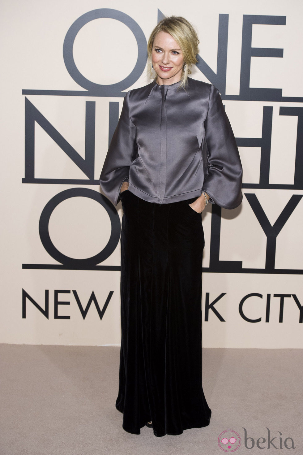Naomi Watts en la fiesta de Giorgio Armani 'One NIght Only' en Nueva York
