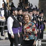 La Reina Sofía llega a Oviedo para la entrega de los Premios Príncipe de Asturias 2013