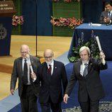 Rolf Heuer, François Englert y Peter Higgs, Premio Príncipe de Asturias 2013 de Investigación Científica y Técnica