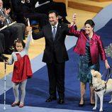 La delegación de la ONCE, Premio Príncipe de Asturias 2013 de Concordia