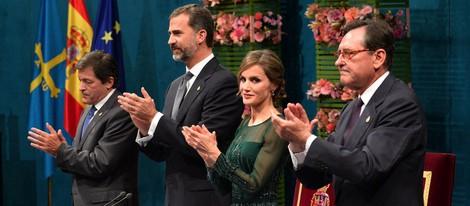 El Príncipe Felipe y la Princesa Letizia presiden los Premios Príncipe de Asturias 2013