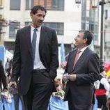 Jorge Garbajosa en los Premios Príncipe de Asturias 2013