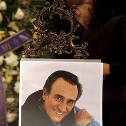 Fotografía de Manolo Escobar en su funeral