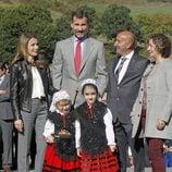 El Príncipe Felipe y la Princesa Letizia visitan Teverga, Pueblo Ejemplar 2013