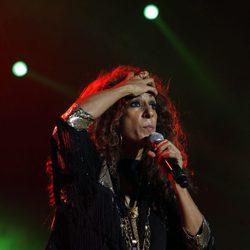 Rosario durante el concierto 'Por Ellas' de Cadena 100