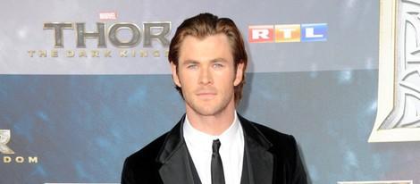 Chris Hemsworth en la premiere de 'Thor: El mundo oscuro' en Berlín