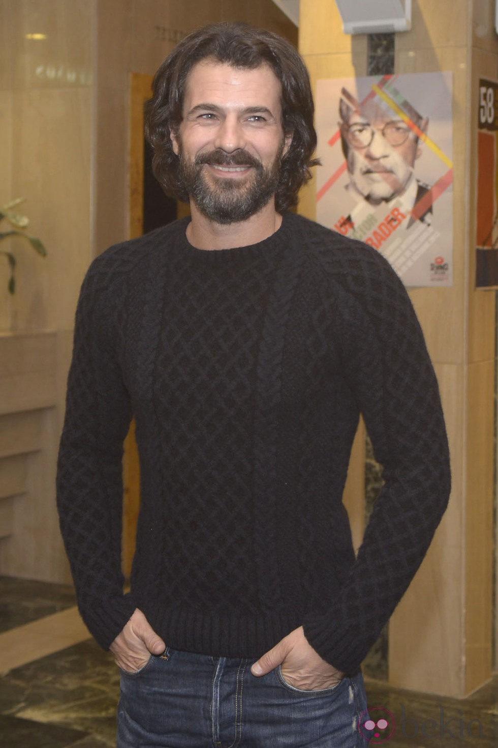 Rodolfo Sancho en la presentación de 'Las nornas' en la Seminci 2013
