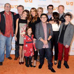 El reparto de 'Modern Family' en el acto benéfico organizado por los responsables de la serie