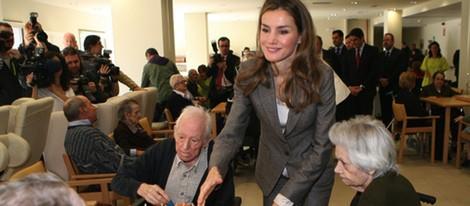 La Princesa de Asturias en la inauguración de la Residencia de Mayores 'El Greco'