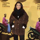 Alicia Borrachero en la premiere del documental 'Manzanas, pollos y quimeras'