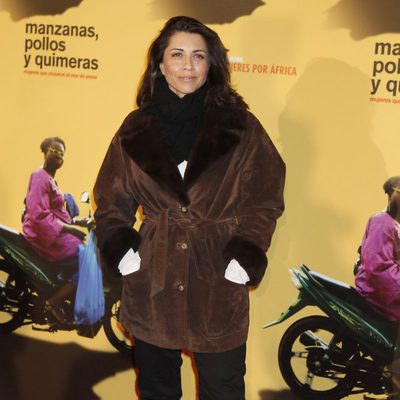 Alicia Borrachero en la premiere del documental 'Manzanas, pollos y quimeras'