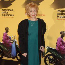 Marisa Paredes en la premiere del documental 'Manzanas, pollos y quimeras'