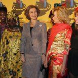 La Reina Sofía en la premiere del documental 'Manzanas, pollos y quimeras'