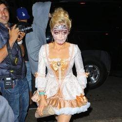 Kate Upton disfrazada en una fiesta de Halloween en Beverly Hills