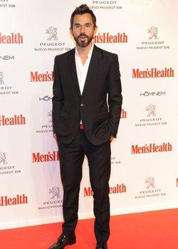 Santi Millán en los Premios Men's Health Hombres del Año 2013.