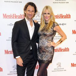 Carolina Cerezuela y Carlos Moyá en los Premios Men's Health Hombres del Año 2013