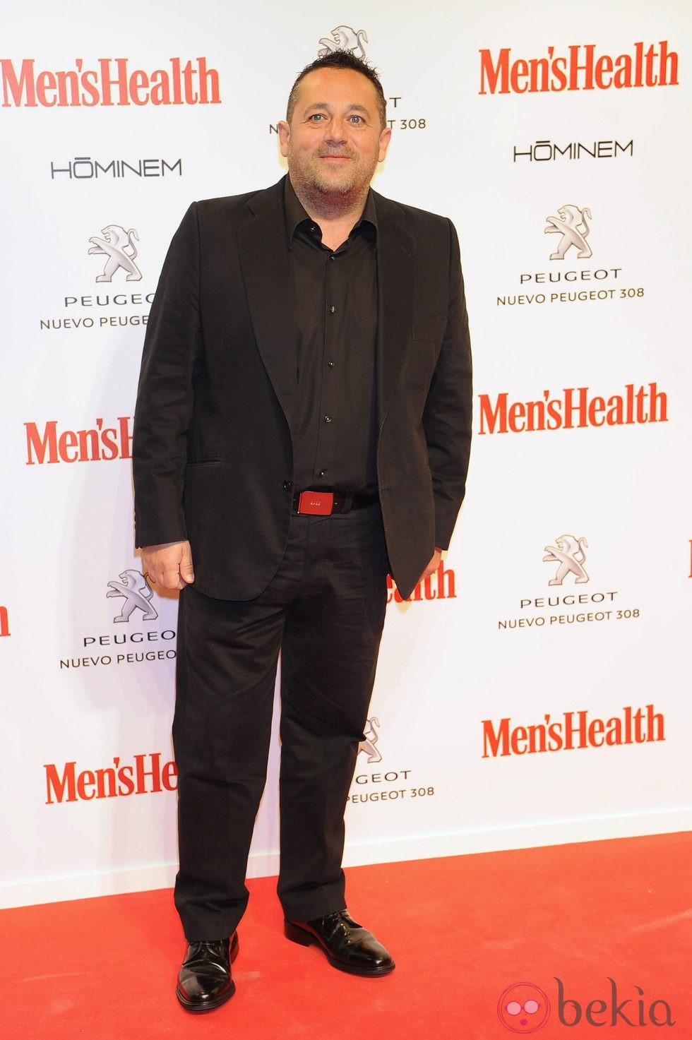 Pepón Nieto en los Premios Men's Health Hombres del Año 2013