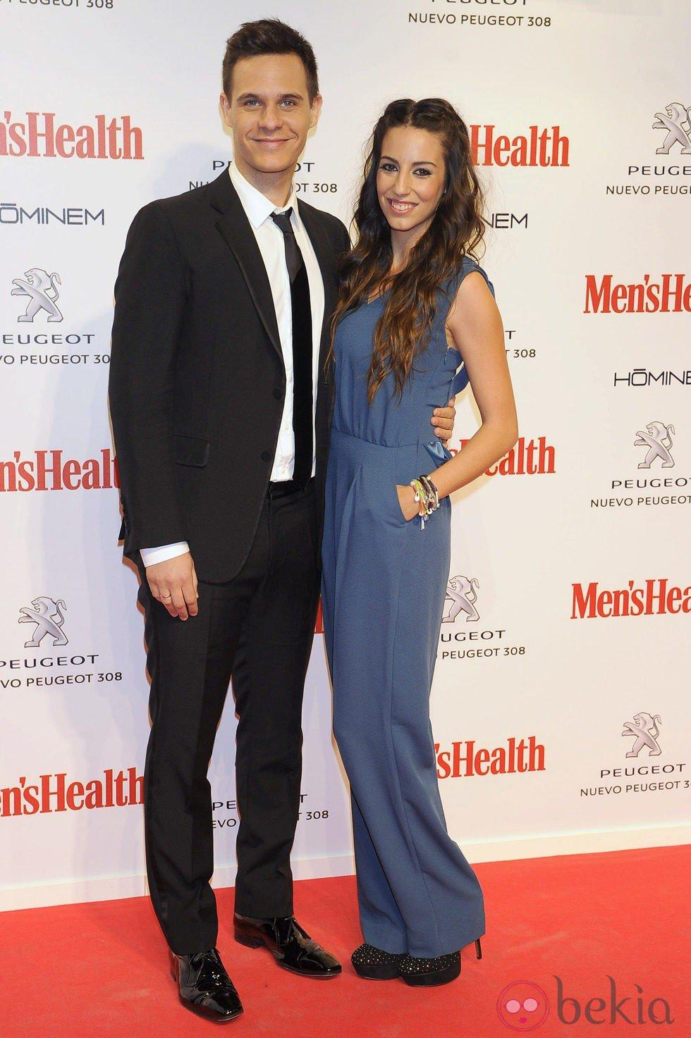 Christian Gálvez y Almudena Cid en los Premios Men's Health Hombres del Año 2013