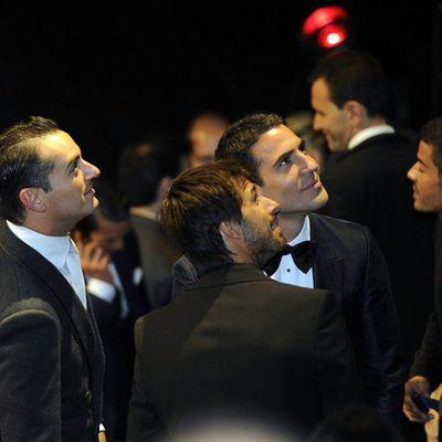 Miguel Ángel Silvestre, Hugo Silva y Asier Etxeandía en los Premios Men's Health Hombres del Año 2013
