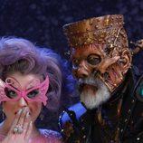Kelly Osbourne disfrazada en una fiesta de Halloween
