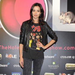 Dafne Fernández en el estreno de 'The Hole 2'