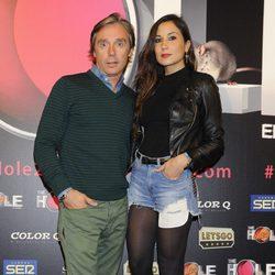 Israel Bayón y Cristina Sainz en el estreno de 'The Hole 2'