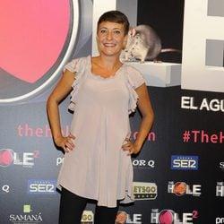 Eva Hache en el estreno de 'The Hole 2'