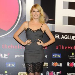 Adriana Abenia en el estreno de 'The Hole 2'